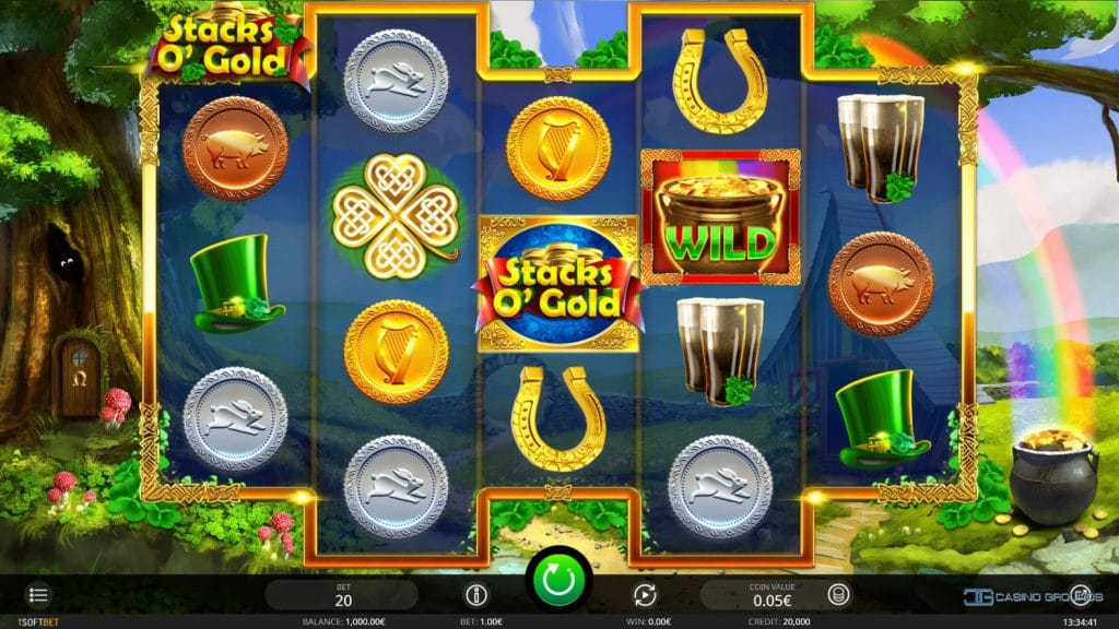 stacks o' gold gameplay