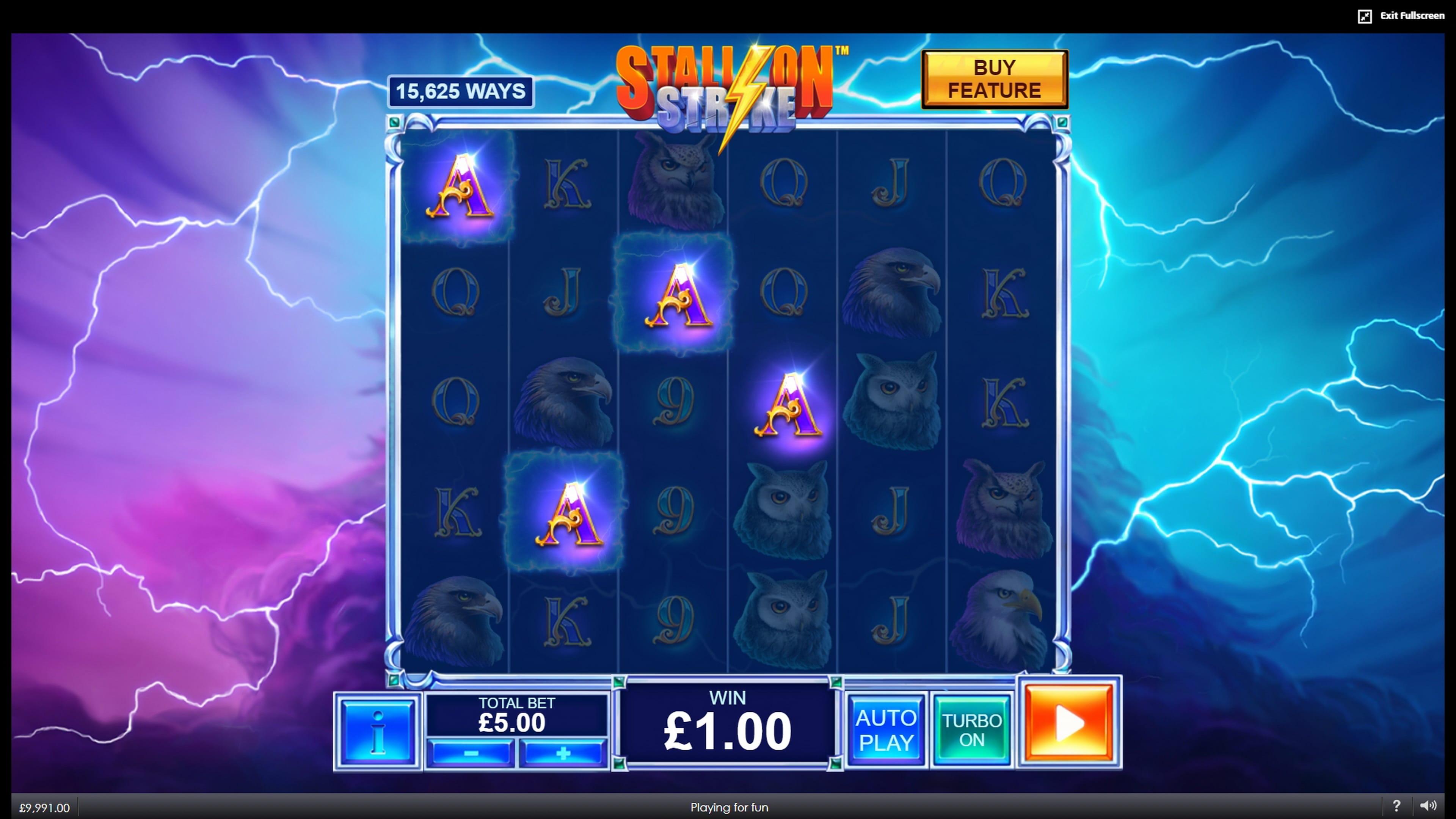 Stallion Strike Slots Gameplay