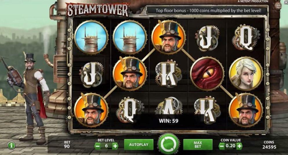 Steam Tower Gameplay