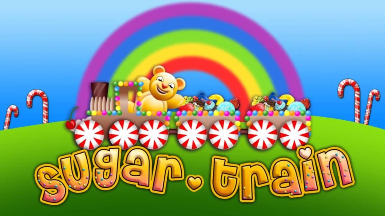 Sugar Train Slots Game logo
