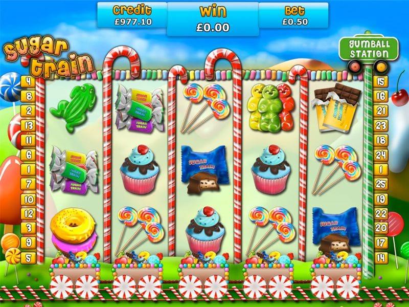 Sugar Train Gameplay