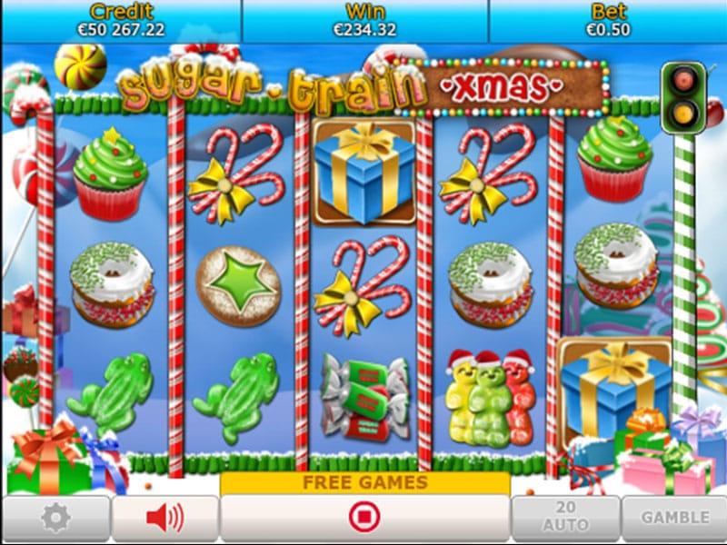 Sugar Train Xmas Jackpot Gameplay