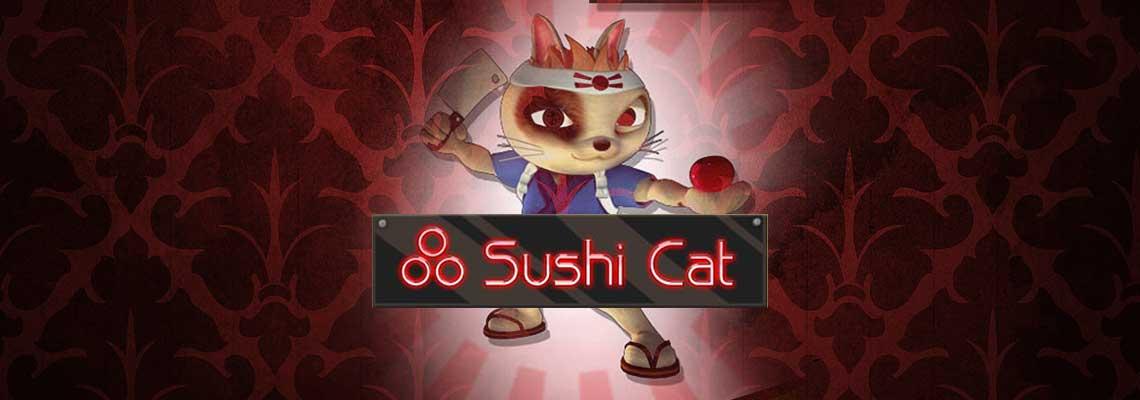 Sushi cat logo