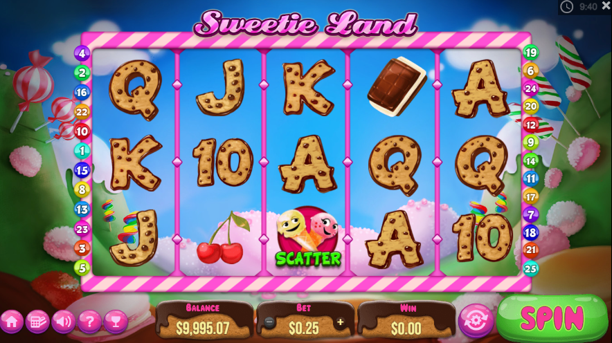 Sweetie land gameplay
