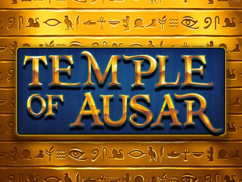 Temple of Ausar slots game logo