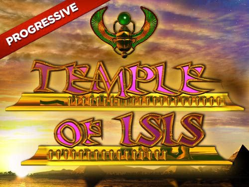 Temple of Isis Jackpot Logo