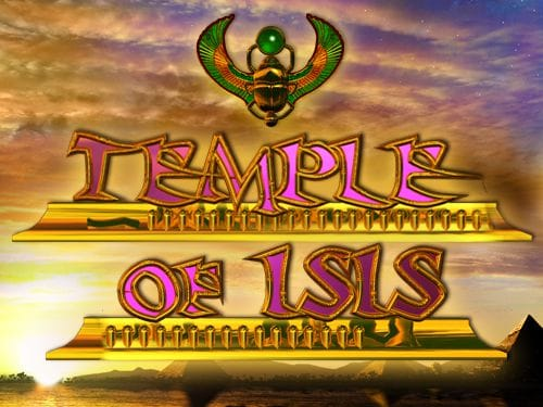Temple Of Isis Slots Game logo