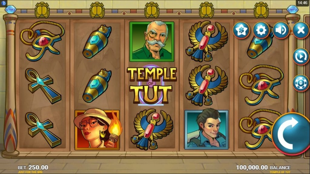 temple of tut gameplay
