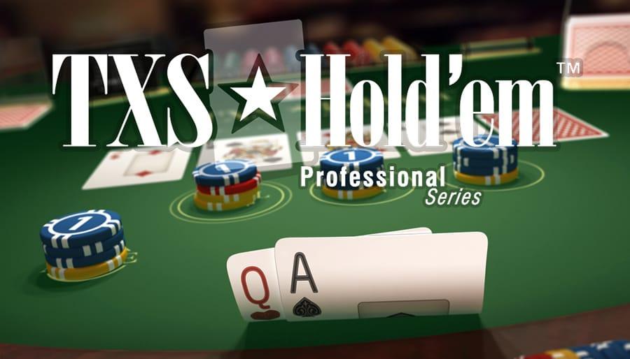 Txs Holdem Pro Slots game logo