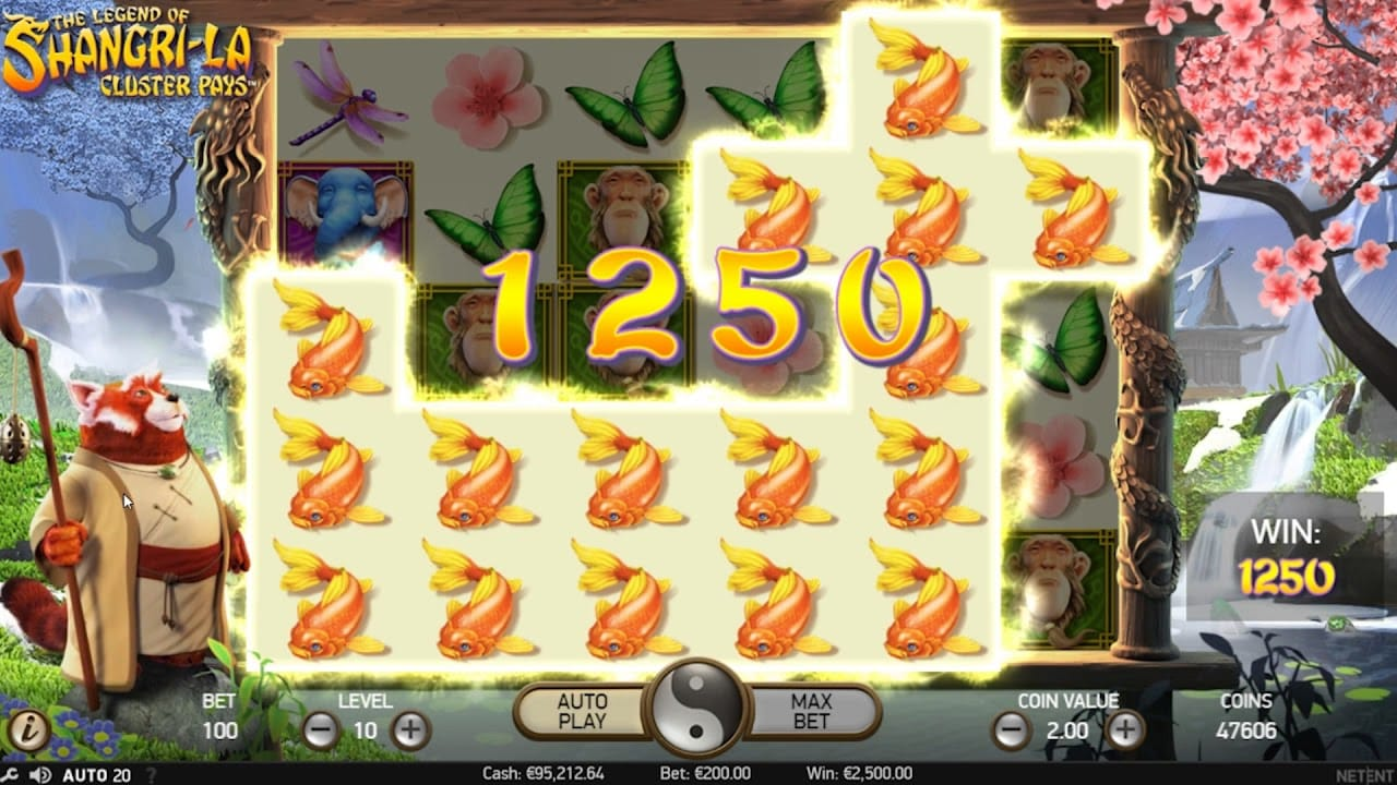 The Legend of Shangri La Slot Game Gameplay