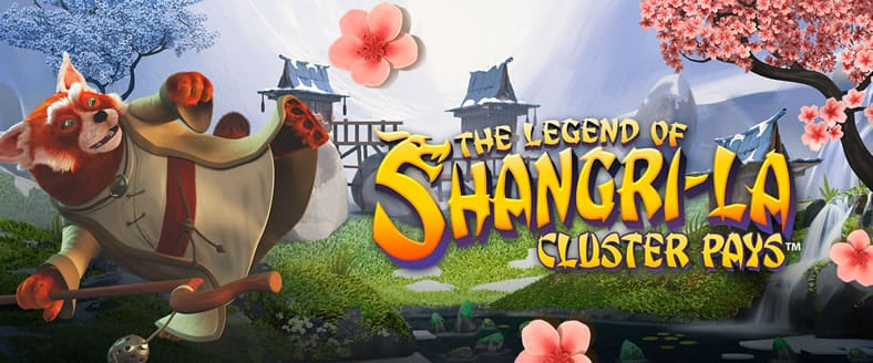 The Legend of Shangri La Slot Game Logo