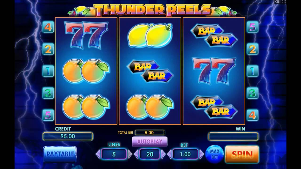 Thunder Reels gameplay