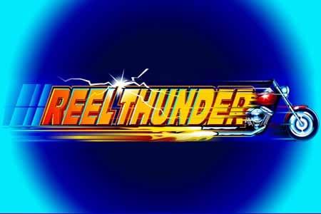 Thunder Reels slots game logo