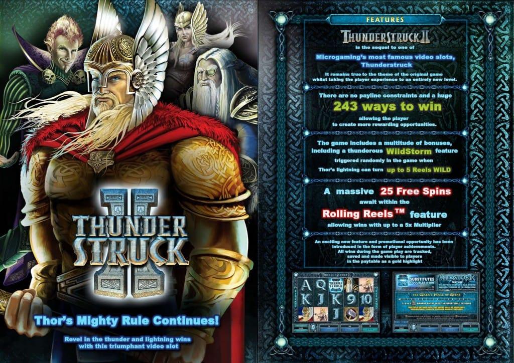 Thunderstruck 2 demo