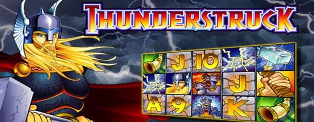 Thunderstruck Slot Game Logo