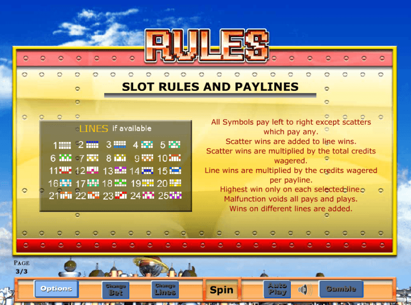 Tin Town Slot Game Rules
