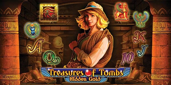 Treasure of Tombs Slots game logo