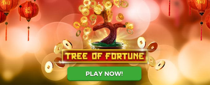 Tree of Fortune Slots Game Logo