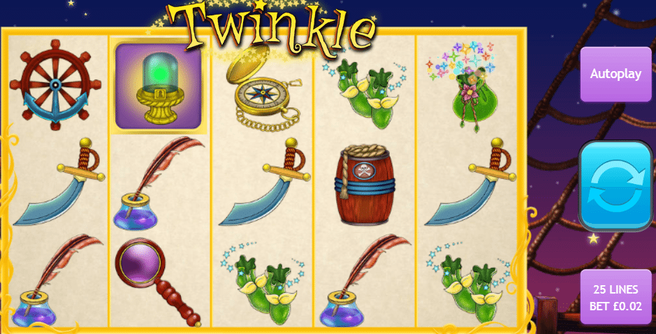 Twinkle Jackpot Progressive Screenshot