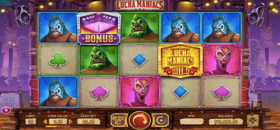 lucha maniacs gameplay