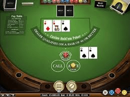 casino hold'em gameplay