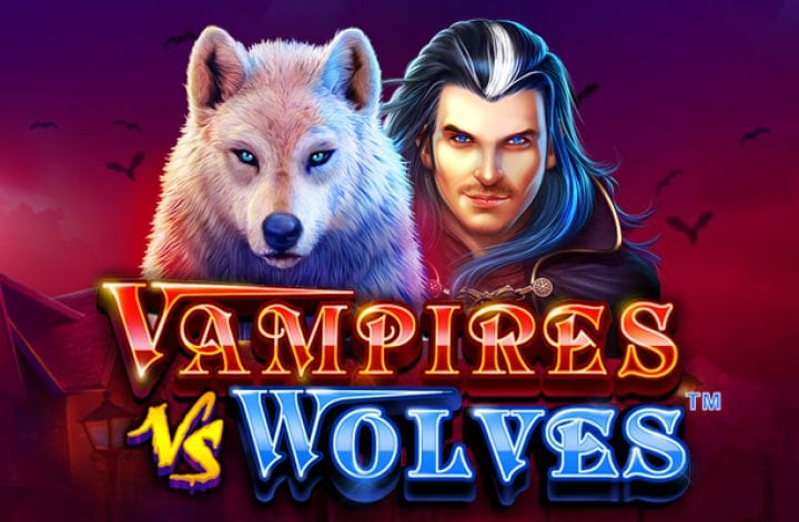 Vampire vs Wolves Logo Casino