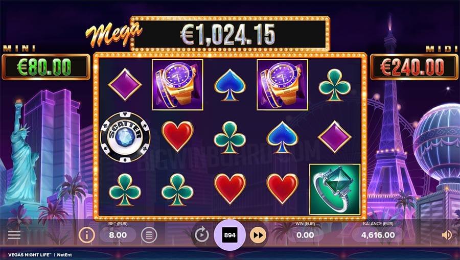 Vegas Night Life Slots Gameplay