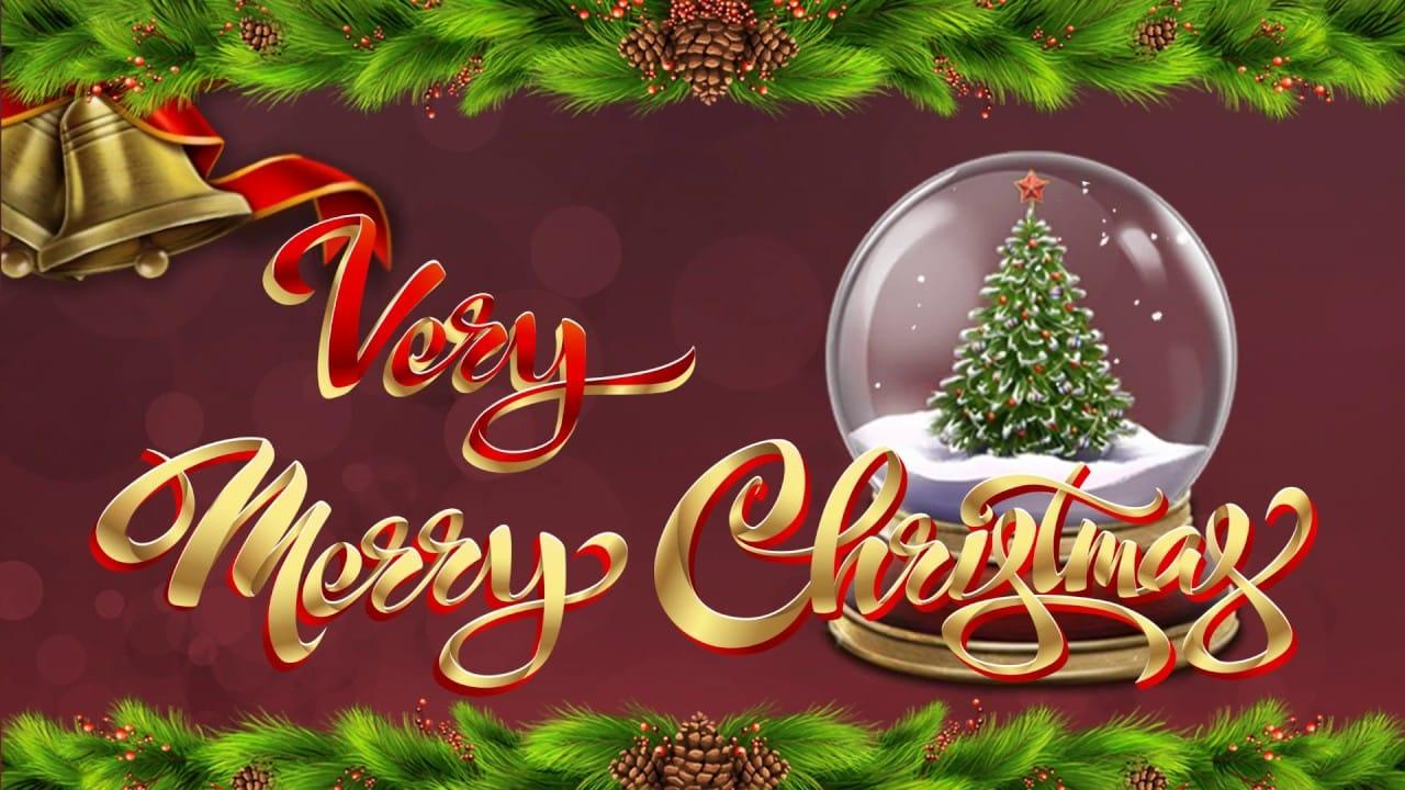 Very Merry Christmas Jackpot Logo