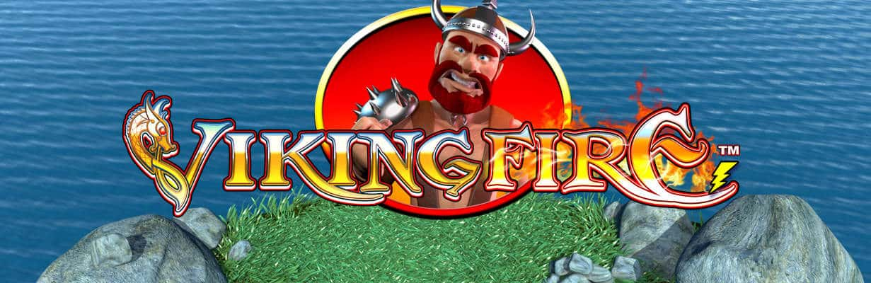 viking fire slots game logo