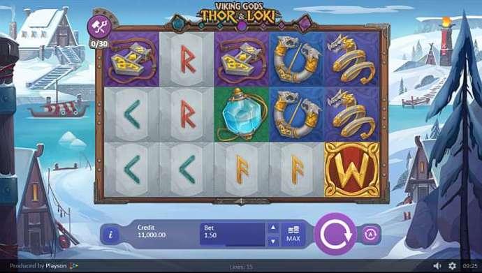 Viking Gods Gameplay