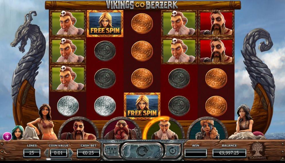 Vikings Go Bezerk Screenshot