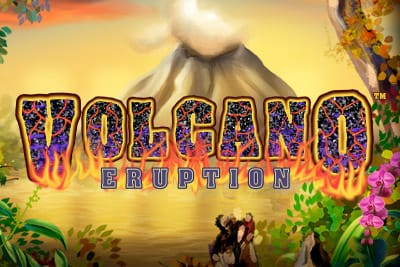 Volcano Eruption Slots Game logo