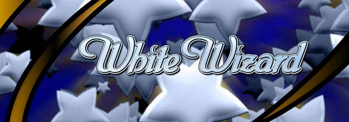 White Wizard Jackpot Logo