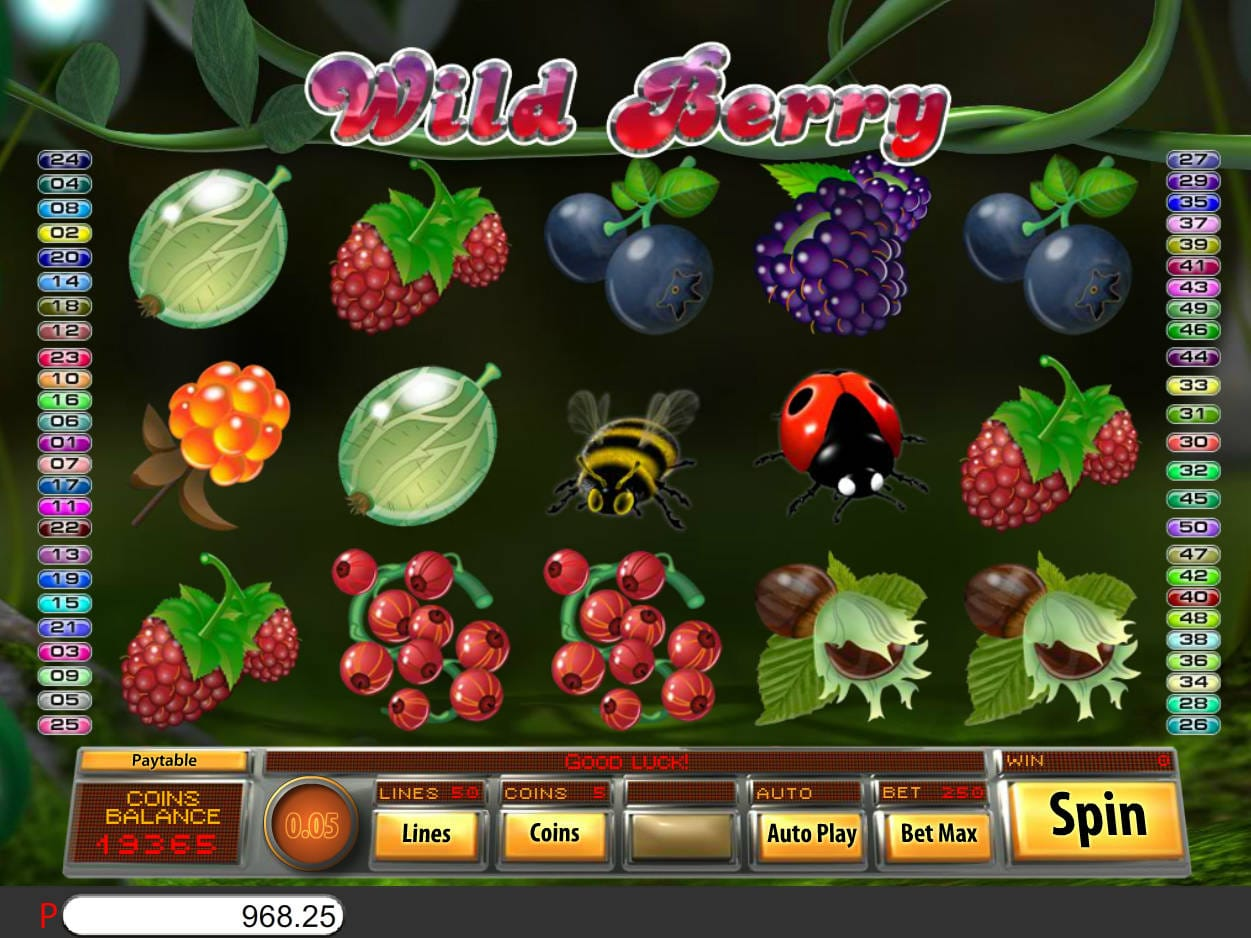 wild berry gameplay