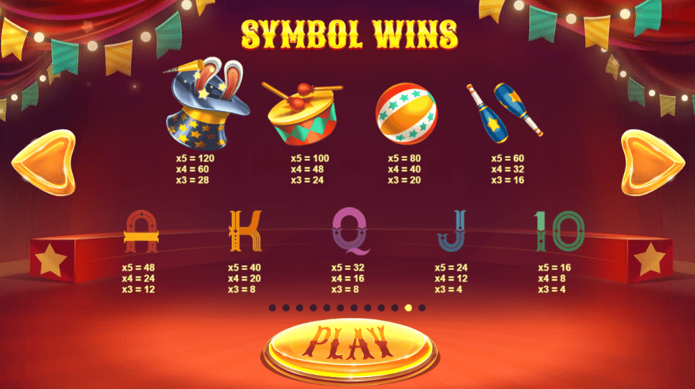 Wild Circus Symbols