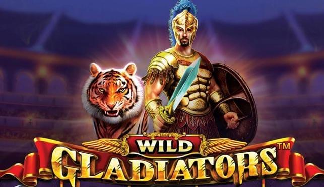 Wild Gladiators slot game logo