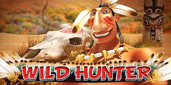 Wild Hunter Slots game logo