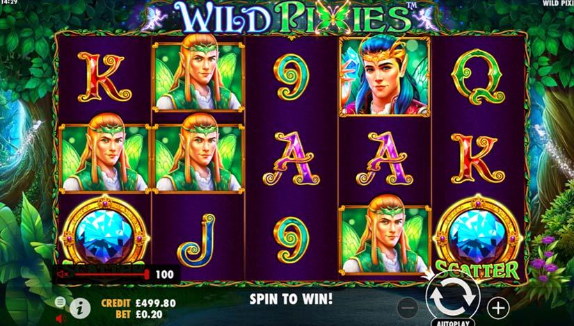 Wild Pixies Casino Game