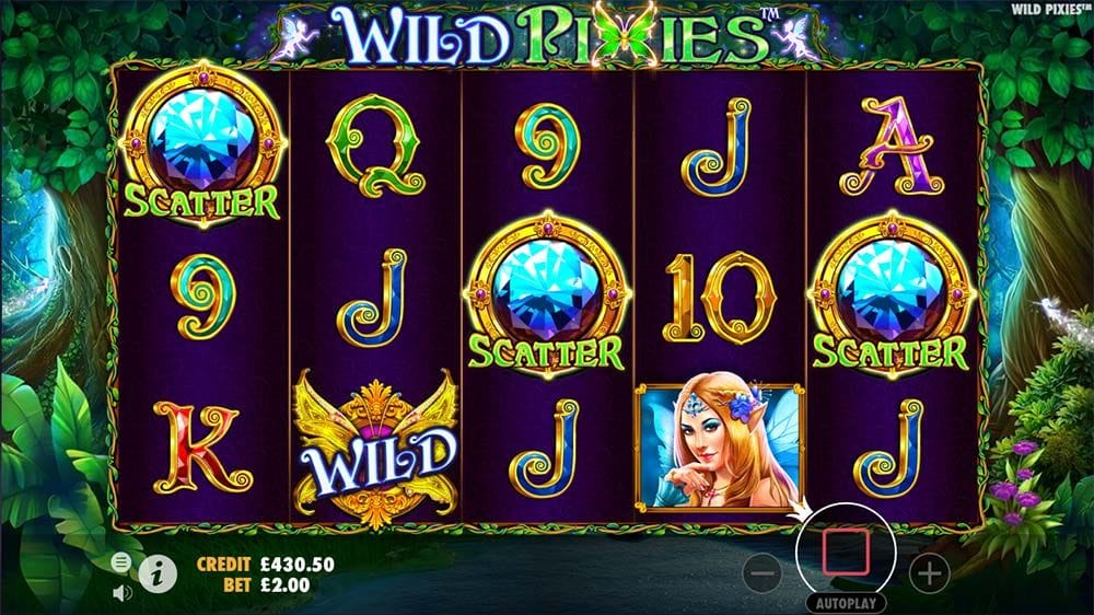 Wild Pixies Slots Online