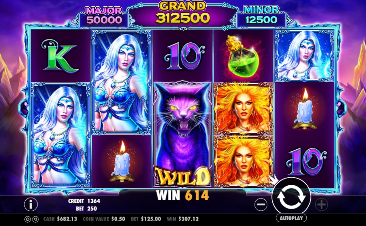 wild spells gameplay
