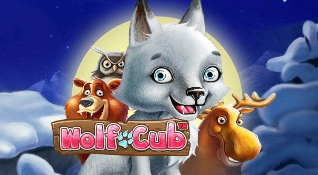 Wolf Cub Slot Game Logo