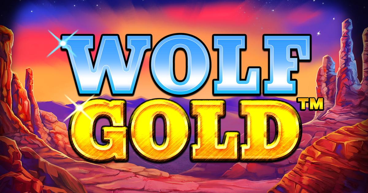 wolf gold slots game logo