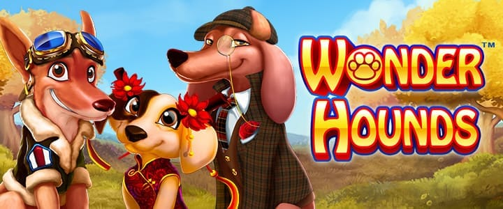 Wonder Hounds slots game logo