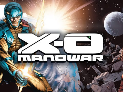 XO Manowar Slots game logo
