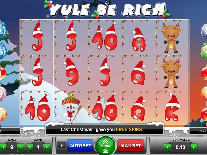 Yule Be Rich Slot Game Gameplay